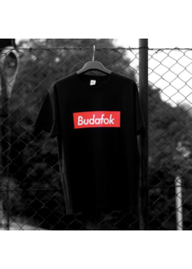 Budafok póló fekete