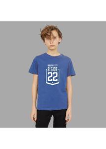 Kék logós póló